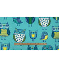 Anti-Pill Fleece Fabric 59\u0022-Nature Owl