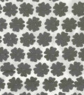 All That Glitters Mesh Fabric 51\u0022-Die-Cut Floral Iron