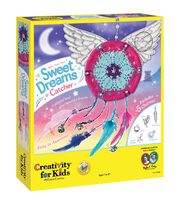 Creativity For Kids Make Your Own Sweet Dreams Catcher Kit, , hi-res