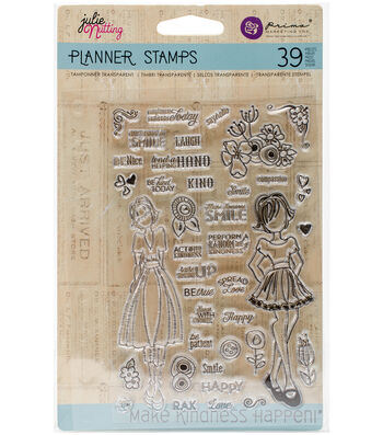 "Planner Clear Stamps 4""X6""-Make Kindness Happen"