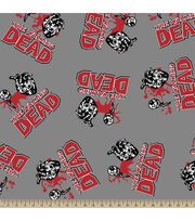 "Walking Dead Fleece Fabric 59""-Love Toss, , hi-res"