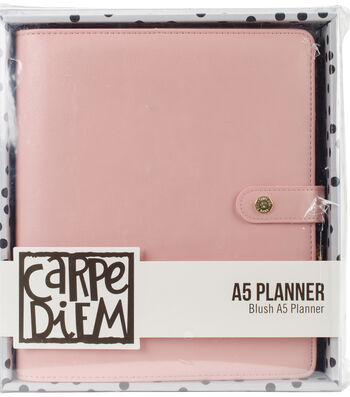 Carpe Diem A5 Planner-Blush