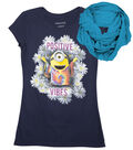 Minions Positive Vibe Shirt with Scarf