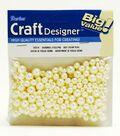 Darice® Round Pearls-36gr/Cream