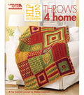 Leisure Arts-Hip 2 B Square Throws 4 Home