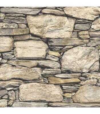 WallPops® NuWallpaper™ Peel and Stick Wallpaper-Hadrian Stone