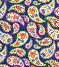 Tutti Fruitti Wings & Things Embellished Fabric 44\u0027\u0027-Multi Paisley
