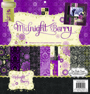 "DCWV 12""x12"" Premium Cardstock Stack Midnight Berry, , hi-res"