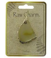 Naturals Raw Charm Gold Pendant, , hi-res