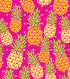 Anti-Pill Fleece Fabric 58\u0022-Bright Pineapples