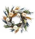 Fall into Color 24\u0027\u0027 Chalk Pumpkin & Grass Wreath-Multicolor