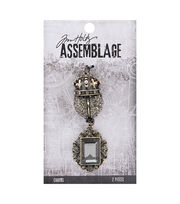 Tim Holtz® Assemblage 2 Pack Regal Charms, , hi-res