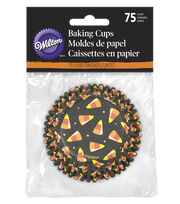 Wilton 75ct Candy Corn Cupcake Liners, , hi-res