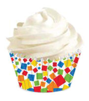 Wilton® Mini Baking Cups-Confetti 100/Pkg, , hi-res