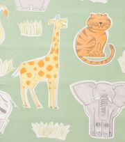 "Alexander Henry Cotton Fabric 44""-Bongo Jungle Sage, , hi-res"
