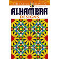 Adult Coloring Book-Dover Publications Alhambra Designs