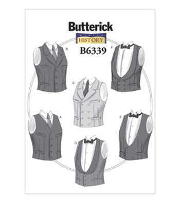Butterick Mens Historical Costumes-B6339