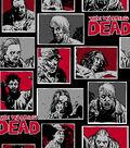 Walking Dead Cotton Fabric 43\u0022-Zombie Characters