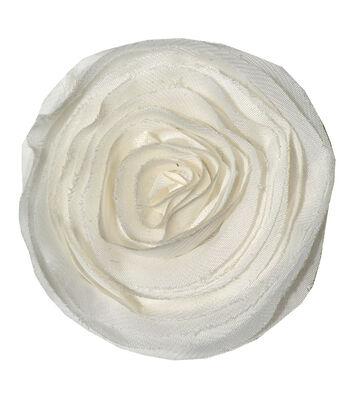 Sheer Flower Ivory