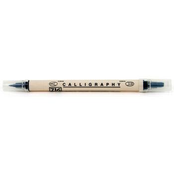 EK Success Zig Dual Tip Calligraphy Pen Black