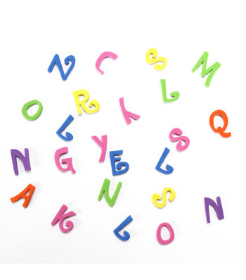 Foam Stickers - Letters, Country House Font