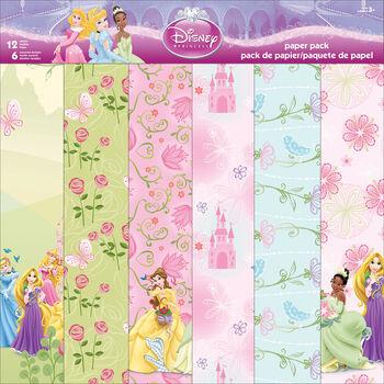 "Sandylion Disney® Princess Paper Pack 12""x12"""
