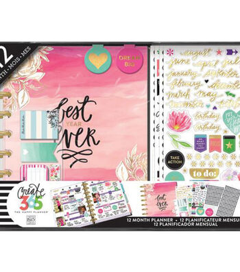 Create 365 Planner Box Kit-Best Year
