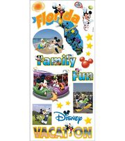 Sandylion Disney Stickers/Borders-Mikey States Florida, , hi-res
