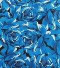 Keepsake Calico™ Cotton Fabric 43\u0022-Packed Roses Blue