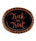 Maker\u0027s Halloween 8 Pack Oval Dinner Plates-Trick or Treat