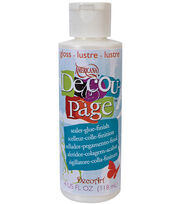 DecoArt Americana Decoupage Glue-4 Oz Gloss, , hi-res