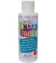 DecoArt Americana Decoupage Glue-4 Oz Gloss, , hi-res