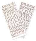Sticko® 5.75x13.5\u0027\u0027 Cooper Dimensional Alphabet Stickers-Confetti