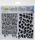 Crafter\u0027s Workshop Gabrielle Pollacco Template 6\u0027\u0027x6\u0027\u0027-Wild Prints