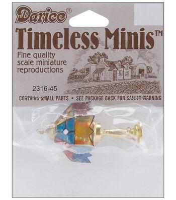 Darice Timeless Miniatures-Lamp