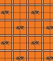 "Oklahoma State Cowboys Flannel Fabric 42""-Plaid, , hi-res"