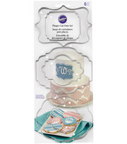 Wilton® Fondant Cut Outs Set-Plaque, , hi-res
