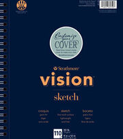 """Strathmore® 9""""x12"""" Vision Sketch Pad, , hi-res"""