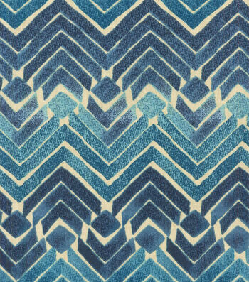 "Kelly Ripa Upholstery Fabric 54""-Zen Blend Indigo"