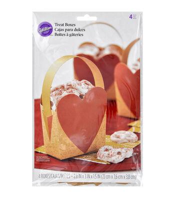 Wilton® Heart Treat Box W/Handle Kit Makes 4-