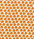 Holiday Showcase™ Harvest Cotton Fabric 43\u0022-Orange Pumpkins On Cream