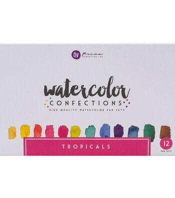 Tropicals -watercolor Confectns