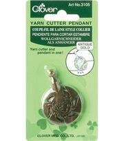 Clover Yarn Cutter Pendants, , hi-res