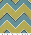 Robert Allen @ Home Lightweight Decor Fabric 55\u0022-Chevron Rain