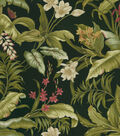Waverly Sun N Shade Outdoor Fabric 54\u0022-Wailea Coasts Ebony