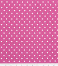 Keepsake Calico™ Cotton Fabric-Chic Bebe Dots Pink/White