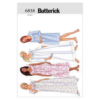 Butterick Misses Sleep & Lounge-B6838
