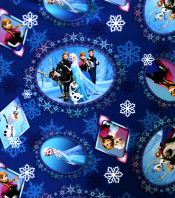 "Disney® Frozen Cotton Fabric 65""-Scenic Patch"