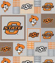 "Oklahoma State Cowboys Fleece Fabric 58""-Gray Block, , hi-res"
