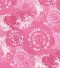 Keepsake Calico Cotton Fabric 44\u0027\u0027-Pink Tie Dye